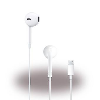 Apple MMTN2ZM/A Lightning, Earpods Stereo Headset, iPhone 11 XS XR X/ 8 / 7 iPad