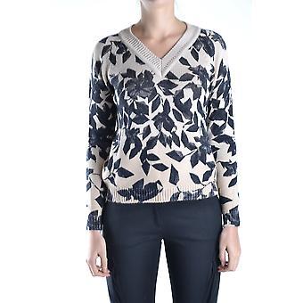 Anna Molinari Ezbc246002 Women's Multicolor Wool Sweater