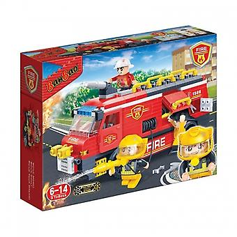 BanBao Interlocking Blocks Fire Engine 7103 (288 Pcs)