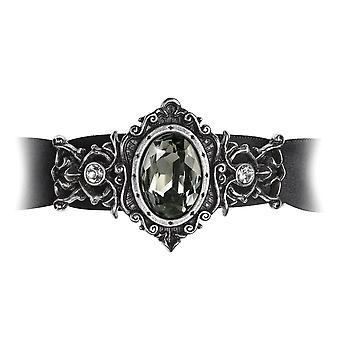 Alchemie Gothic St. Petersburg Tear Ribbon Pewter Armband