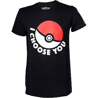 Miesten Pokémon ' I Choose you ' T-paita