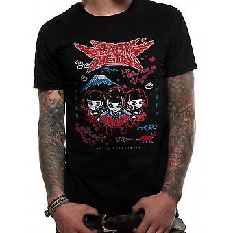 Babymetal Unisex Adults Pixel Tokyo Design T-Shirt