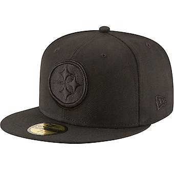 New Era 59Fifty Cap - NFL BLACK Pittsburgh Steelers