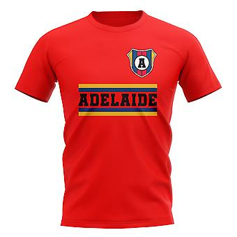 Adelaide United core voetbal Club T-shirt (rood)