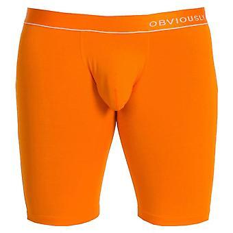 Offensichtlich PrimeMan AnatoMAX Boxer Kurz 9zoll Bein - Orange