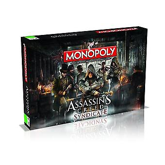 Assassins Creed Syndicate Monopoly - Board Game