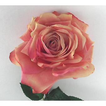 Artificial Silk Open Duchess Rose