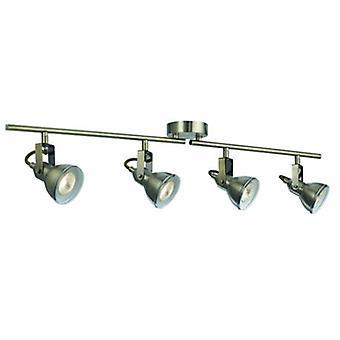 4 luz ajustável teto Spotlight bar bronze antigo