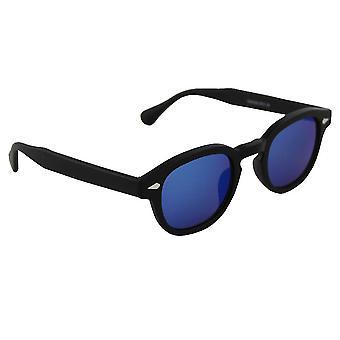 Zonnebrillen Dames Ovaal -  Zwart/Donkerblauw2531_5