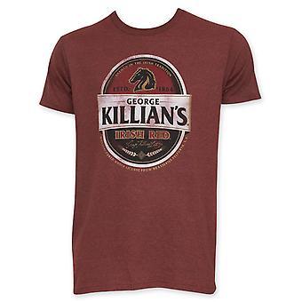 Killian is Ierse rode mannen rode Tee Shirt