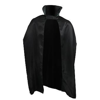 Aikuisten puku musta Satiini 45 tuuman viitta