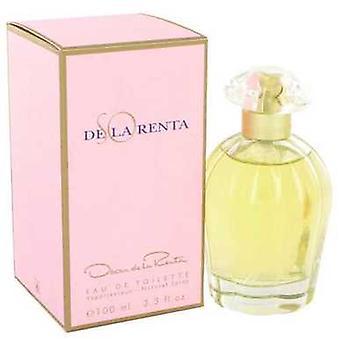So De La Renta By Oscar De La Renta Eau De Toilette Spray 3.4 Oz (women) V728-401615