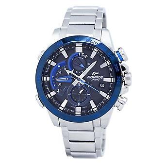 Casio Edifice Smartphone Link Dual Time Tough Solar Eqb-800db-1a Eqb800db-1a Men's Uhr
