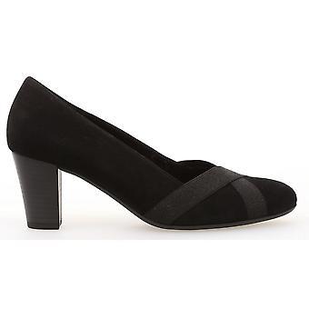 Gabor - Heeled Court Shoe - Forage 32.163