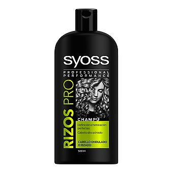 Syoss Rizos Pro Champú Cabello Ondas O Rizos 500 Ml For Women