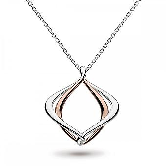 Kit Heath Entwine Alicia Rose Gold Plate 18 Necklace 90019RG016
