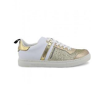 Trussardi - shoes - Sneakers - 79A00253_M050_GOLD - Women - gold,white - EU 35