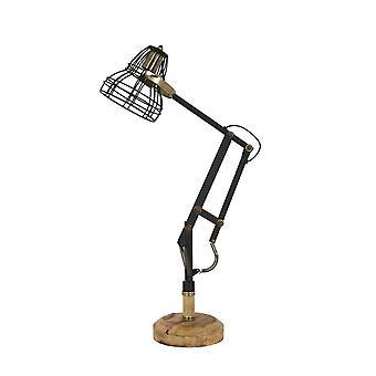 光・ リビング デスク ランプ 41 x 19 x 75 Cm ジャクソンつや消しブラック アンティーク ブロンズ