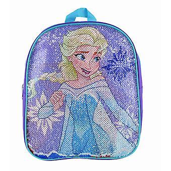 Small Backpack - Frozen - Elsa & Anna Reverse Sequin 12