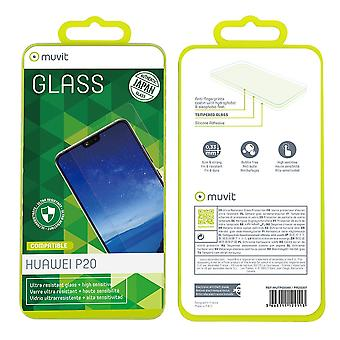 Film Huawei P20 Screen Protection Soaked Glass Curved - Muvit
