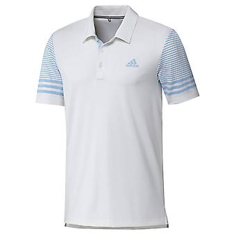 adidas Golf Mens Ultimate Gradient Sleeve Polo Shirt adidas Golf Mens Ultimate Gradient Sleeve Polo Shirt