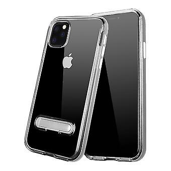Case Kickstand pour Apple iPhone 11 Pro Max ( 6.5) Transparent Silver