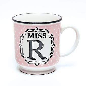 Historia & Heraldry aakkoset muki-Miss R
