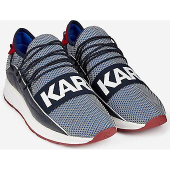 Karl Lagerfeld Vektor Band Blue/red/white Trainer