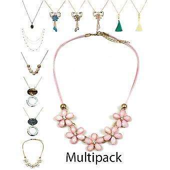 Dlhé multipack náhrdelník