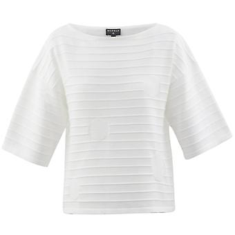 MARBLE Marble White Sweater 5685