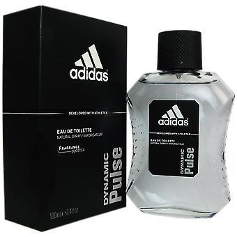 Dynamic pulse van Adidas voor mannen 3.4 oz eau de toilette spray