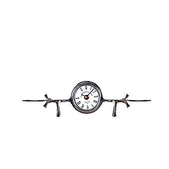 """3"""" x 13.5"""" x 4.5"""" Aeroplane Table Clock"""