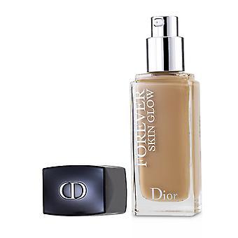 Dior Forever Skin Glow 24H Slitasje Radiant Perfeksjon Foundation SPF 35 - # 3.5N (Nøytral) 30ml / 1oz