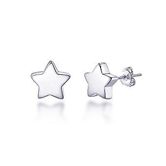 Boucles d'oreilles étoiles en argent sterling