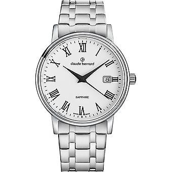 Claude Bernard - Watch - Men - Classic Gents 42mm - 53009 3M BR