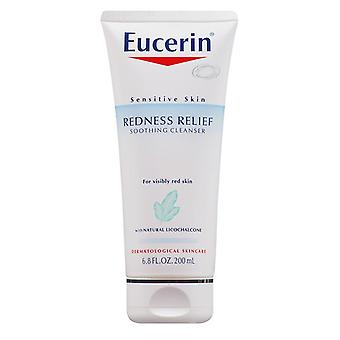 Eucerin redness relief soothing cleanser, 6.8 oz