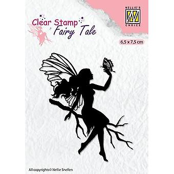 Nellie's Choice Clearstamp silhouette Fairy Tale Nr 9 FTCS009