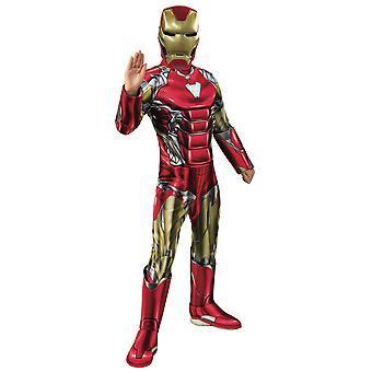 Iron Man Deluxe Avengers Endgame Marvel Superhero Licensed Child Boys Costume