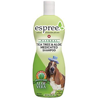 Espree Tea Tree & Aloe schampo 355ml