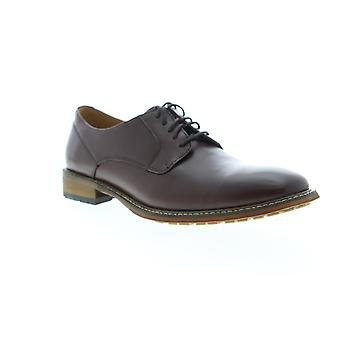 English Laundry Watford  Mens Brown Leather Dress Oxfords Shoes
