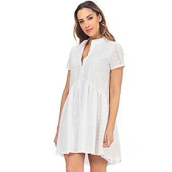 Wide shirt dress by batista and buttons