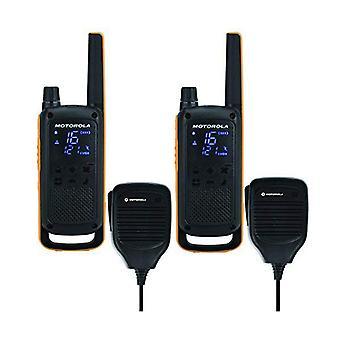 Walkie-talkie Motorola T82 Extreme RSM (2 st) svart gul