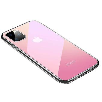 iPhone 11 Pro Max Shell Transparent/Pink