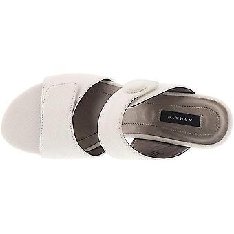 ARRAY Womens KEY WEST Fabric Open Toe Formal Slide Sandals