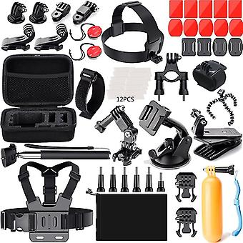 GoPro Set with accessories and bag