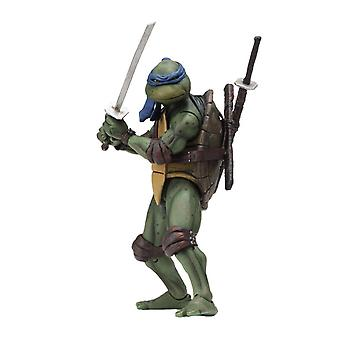 "NECA Teenage Mutant Ninja Turtles Leonardo 1990 Movie 7"" Action Figure"