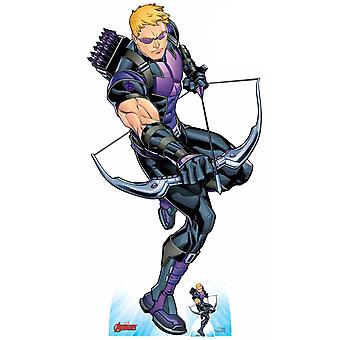 Hawkeye holding Bow and Arrow Official Marvel Cardboard Cutout / Standee