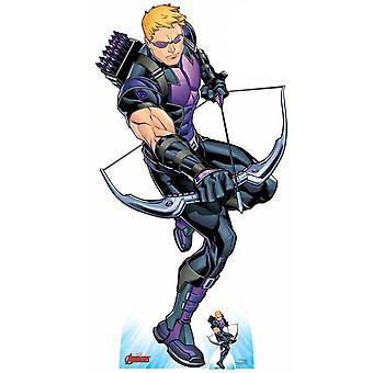 Hawkeye holding Bow and Arrow Official Marvel Cardboard Cutout