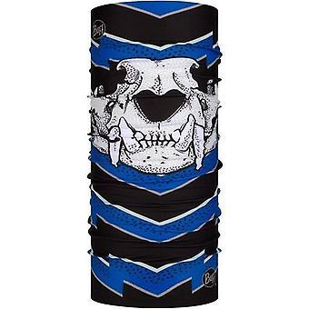 Buff Unisex T-Knuckle Original Protective Outdoor Tubular Bandana Scarf - Blue