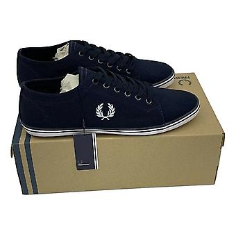 Fred Perry Kingston Twill Plimsolls B6259-421